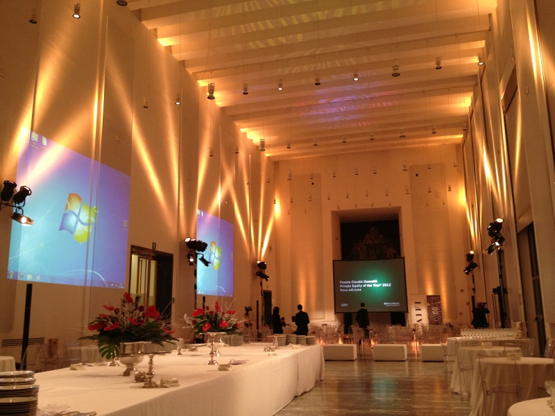 Evento palazzo Triennale a Milano